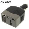 Автомобильный преобразователь напряжения  12-220V 100W/ Инвертор