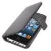 Кожаный чехол со слотом для пластиковых карт для iPhone 4 & 4S